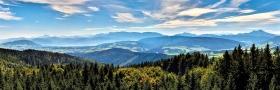 Aussicht von der Aussichtswarte Lichtenberg
