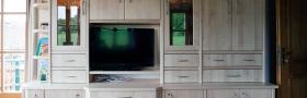 Wohnzimmerschrank in Strobl