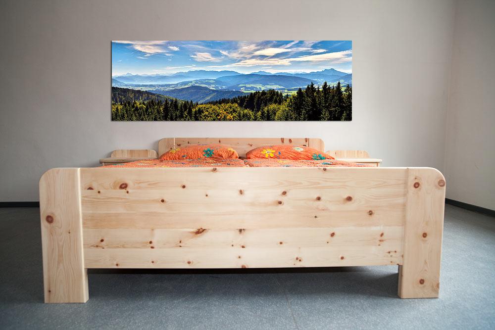 Zirben Schlafzimmer - Lassl Wohnen - Tischlerei und Urlaub am Bauernhof