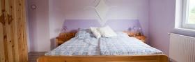 Zirbenschlafzimmer - Doppelbett